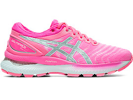 ASICS Gel - Nimbus 22 Hot Pink / Pure Silver Mujer