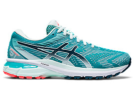 ASICS Gt - 2000 8 Techno Cyan / Magnetic Blue Mujer