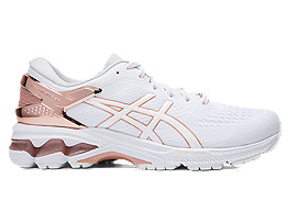 ASICS Gel - Kayano? 26 Platinum White / Rose Gold Mujer