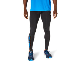 ASICS Icon Tight Performance Black / Electric Blue Hombre