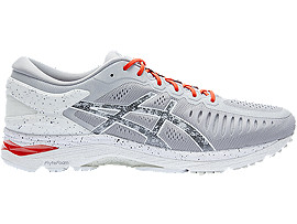 ASICS Metarun Concrete Grey / Shu Red / Hazy White Hombre