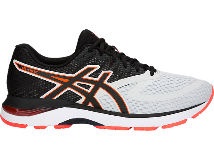 Men's GEL-PULSE 10 | GLACIER GREY/BLACK | Running | ASICS Outlet