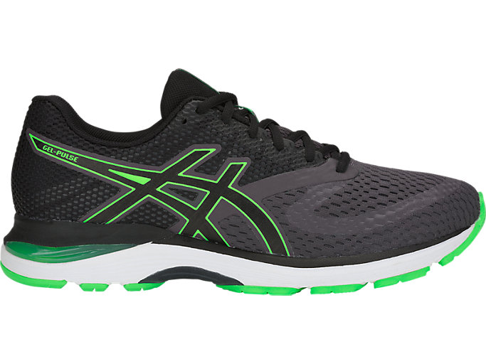 Men's GEL-PULSE 10 | DARK GREY/GREEN GECKO | Running | ASICS ...