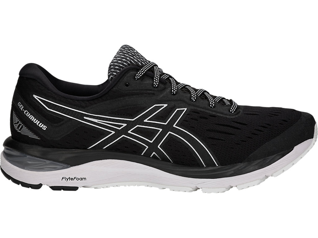 Hundimiento Perspectiva Por  Men's GEL-Cumulus 20 | Black/White | Running Shoes | ASICS