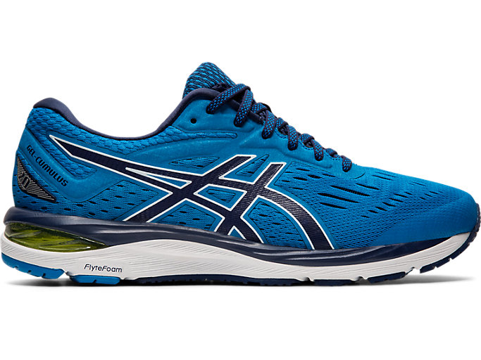 Men's GEL-CUMULUS 20 | RACE BLUE/PEACOAT | Running | ASICS ...