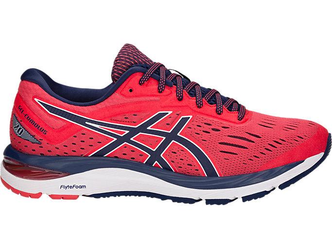 Men's GEL-CUMULUS 20 | RED ALERT/PEACOAT | Running | ASICS ...