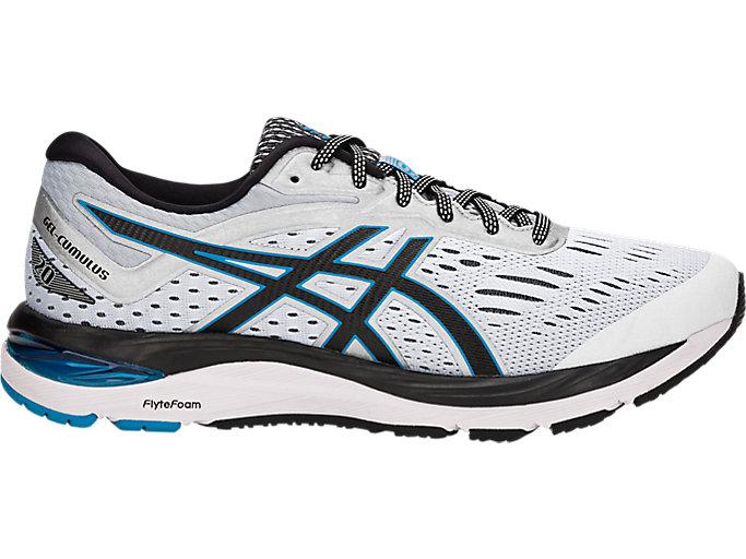 Men's GEL-CUMULUS 20 WIDE   Mid Grey/Black   Running Shoes   ASICS