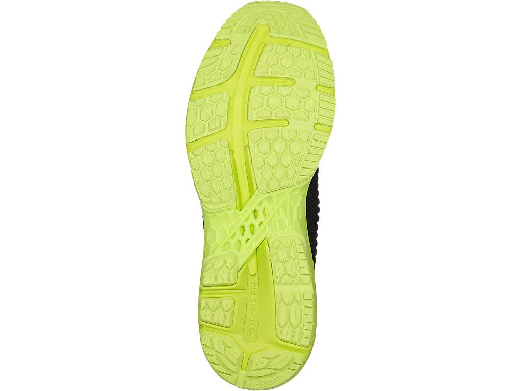 Men's GEL-Kayano 25   Black/Neon Lime   Running Shoes   ASICS