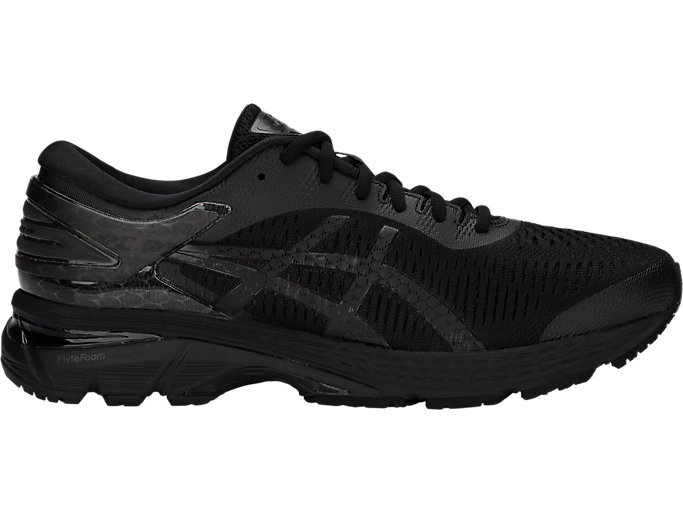 Alternative image view of GEL-KAYANO 25, BLACK/BLACK