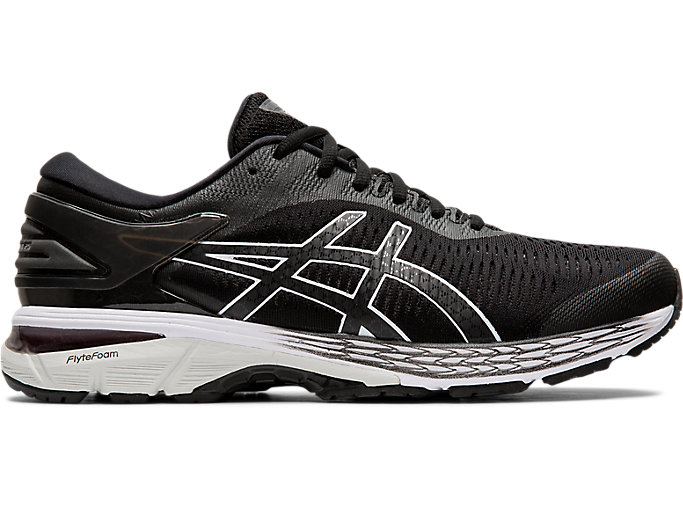 Alternative image view of GEL-KAYANO 25, BLACK/GLACIER GREY
