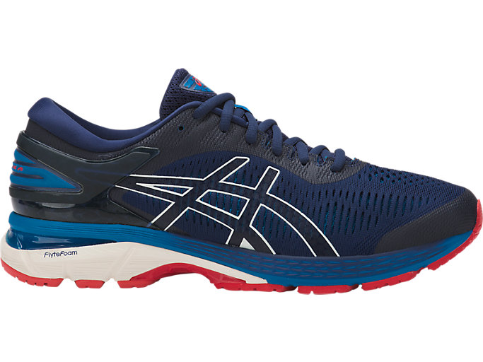 Men's GEL-KAYANO 25 | INDIGO BLUE/CREAM | Running | ASICS Outlet