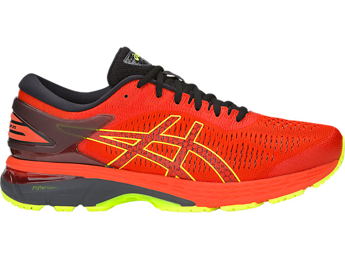 Alternative image view of GEL-KAYANO 25, CHERRY TOMATO/SAFETY YELLOW