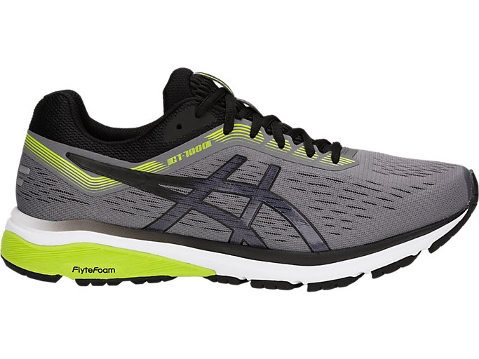 4E Asics GT-1000 7 Men/'s 1011A041.021 Carbon//Black Running Shoes