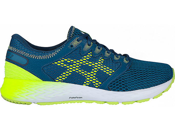Pakistán Deshonestidad Reacondicionamiento  Men's ROADHAWK FF 2 | Deep Aqua/Flash Yellow | Running Shoes | ASICS