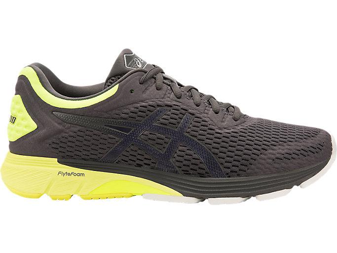 Men's GT-4000 WIDE   Dark Grey/Safety Yellow   Running Shoes   ASICS