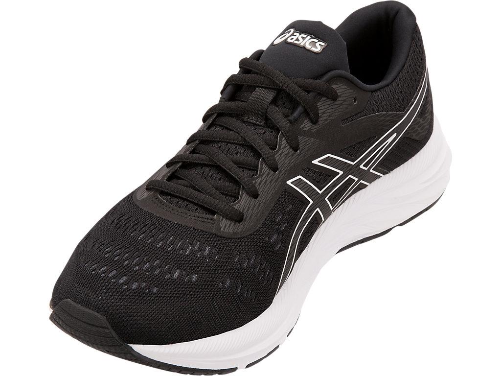 Men's GEL-EXCITE 6   Black/White   Running Shoes   ASICS