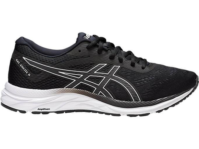 Men's GEL-EXCITE 6 | BLACK/WHITE | Running | ASICS Outlet