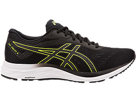 ASICS Gel - Excite 6 Black / Hazard Green Hombre