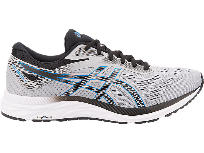 Medieval conciencia Melancólico  Men's GEL-EXCITE 6 | Mid Grey/Electric Blue | Running Shoes | ASICS