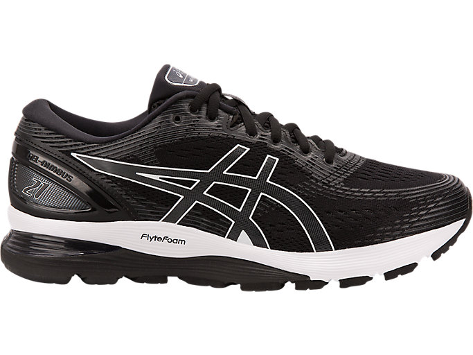 Unisex GEL-NIMBUS 21 | BLACK/DARK GREY | Hasta 50% en ...