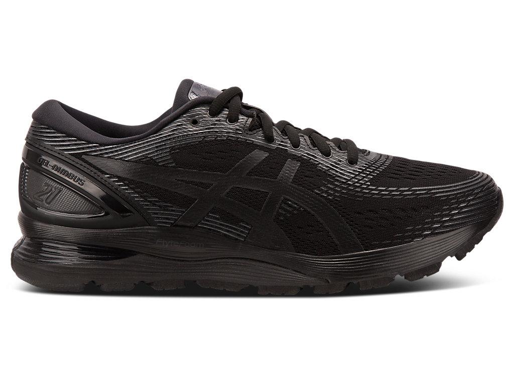 Men's GEL-NIMBUS 21 | Black/Black | Running Shoes | ASICS