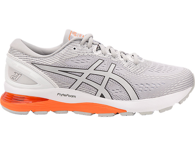 Alternative image view of GEL-NIMBUS 21, Mid Grey/White