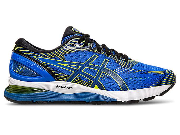 cómodo Mártir Presta atención a  Men's GEL-NIMBUS 21 | Illusion Blue/Black | Running Shoes | ASICS