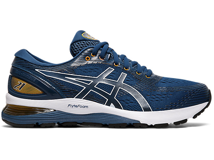 Alternative image view of GEL-NIMBUS 21, Mako Blue/Black