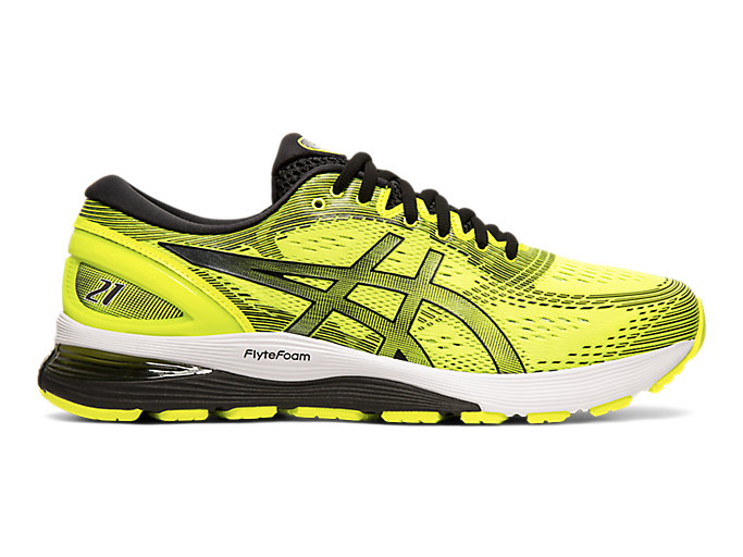 Alternative image view of GEL-NIMBUS 21, Safety Yellow/Black