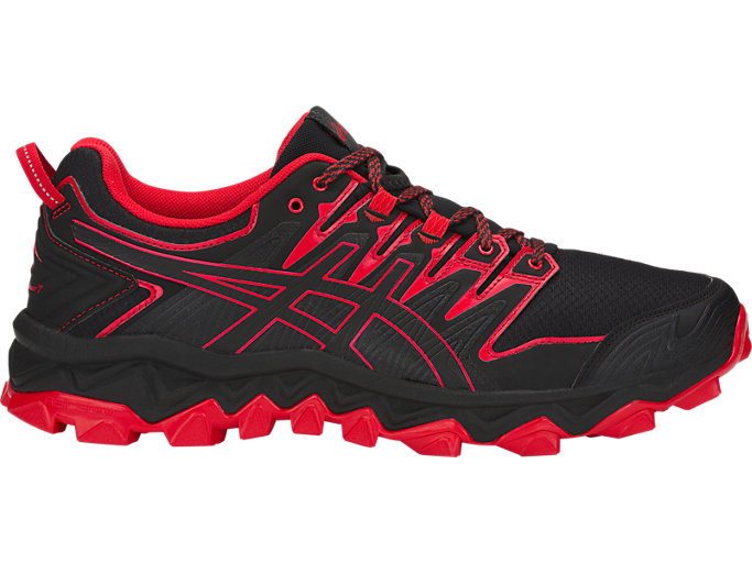 Unisex GEL-FujiTrabuco 7 | BLACK/CLASSIC RED | Trail | ASICS ...