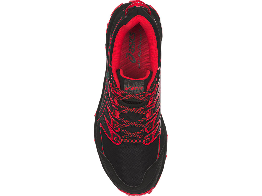 Men's GEL-FUJITRABUCO 7 | Black/Classic Red | Trail Running | ASICS