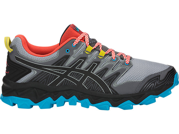 Alternative image view of ASICS GEL-FUJITRABUCO 7 Laufschuhe für Herren, STONE GREY/BLACK