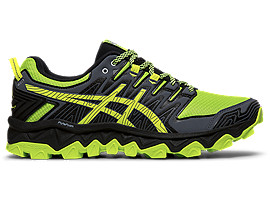 ASICS Zapatillas De Running Para Hombre  Gel - Fujitrabuco 7 Green Gecko / Black Hombre