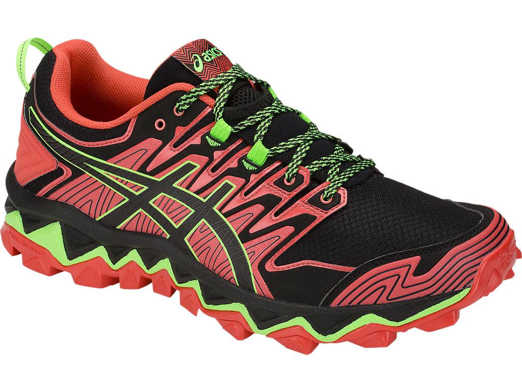 Men's GEL-FUJITRABUCO 7 | Red Snapper/Black | Trail Running | ASICS