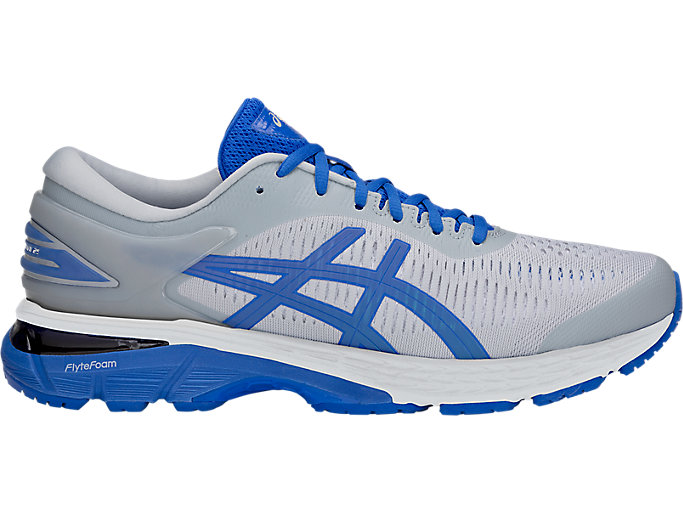 Alternative image view of GEL-KAYANO 25 LITE-SHOW, MID GREY/ILLUSION BLUE