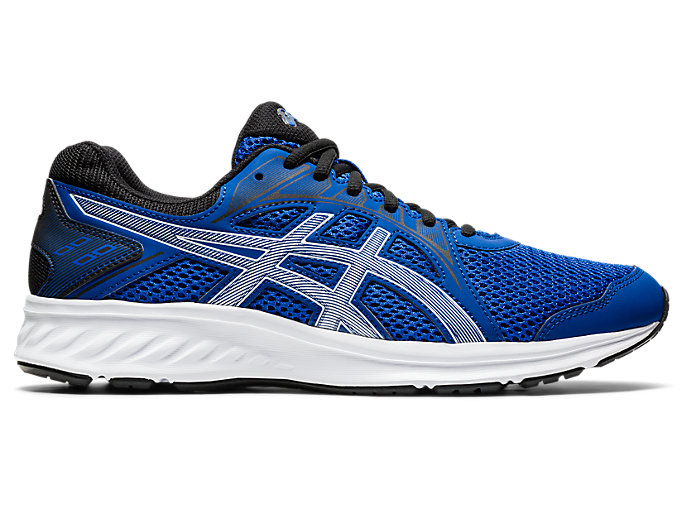 Right side view of JOLT 2, ASICS BLUE/PURE SILVER