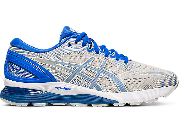 Alternative image view of GEL-NIMBUS 21 LITE-SHOW, MID GREY/ILLUSION BLUE