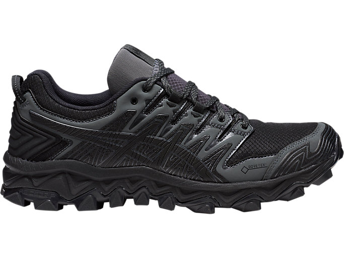 Unisex GEL-FujiTrabuco 7 G-TX | BLACK/DARK GREY | Up to 50 ...