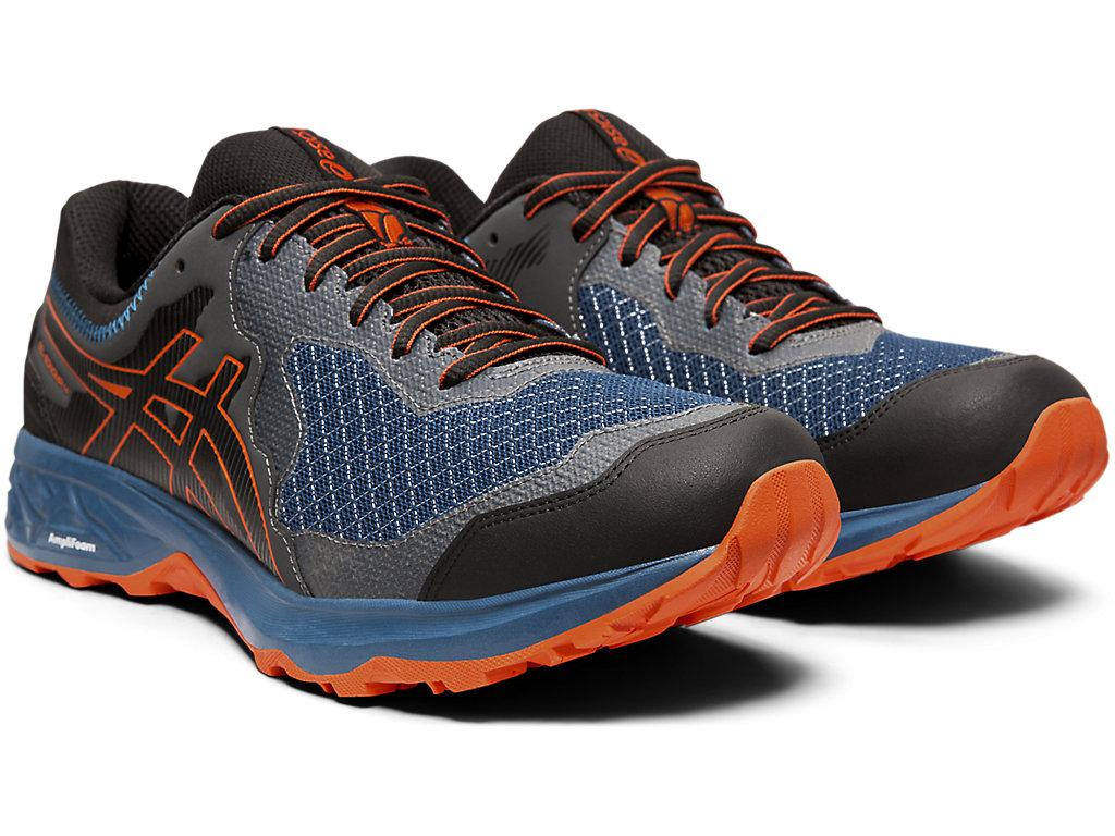 Men's GEL-SONOMA 4 G-TX | Mako Blue/Koi | Trail Running | ASICS