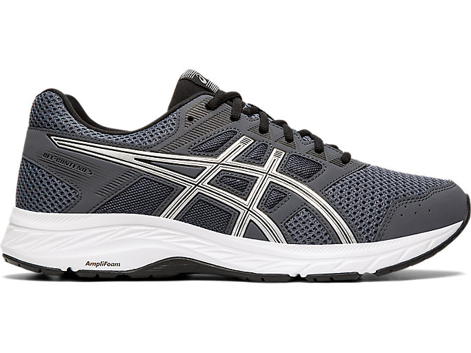 Men's GEL-Contend 5   Carrier Grey/Silver   Running Shoes   ASICS