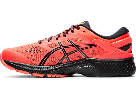 GEL-KAYANO 26 (4E) FLASH CORAL/BLACK