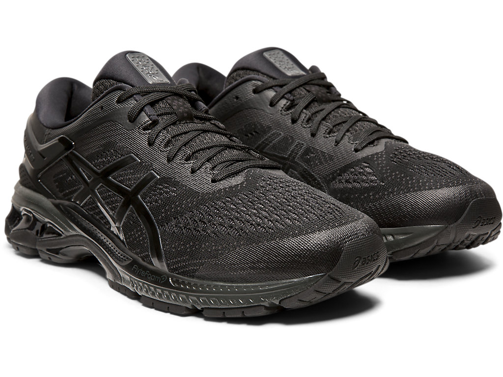 Men's GEL-KAYANO 26 | BLACK/BLACK | Running | ASICS Outlet