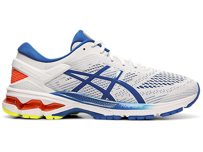 Alternative image view of GEL-KAYANO 26, White/Lake Drive