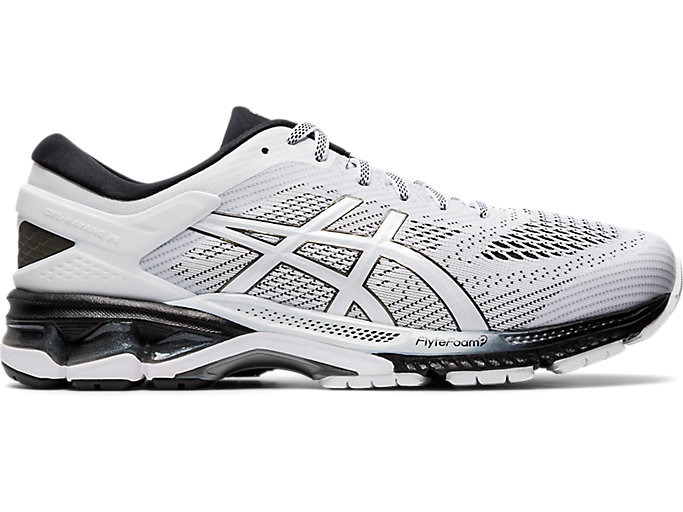 Alternative image view of GEL-KAYANO™ 26, WHITE/BLACK