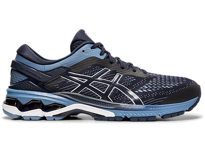 Alternative image view of GEL-KAYANO 26, MIDNIGHT/GREY FLOSS