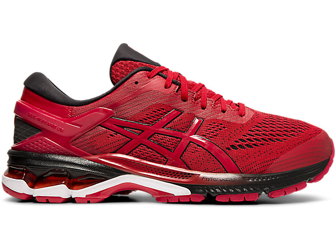 Alternative image view of GEL-KAYANO 26, SPEED RED/BLACK
