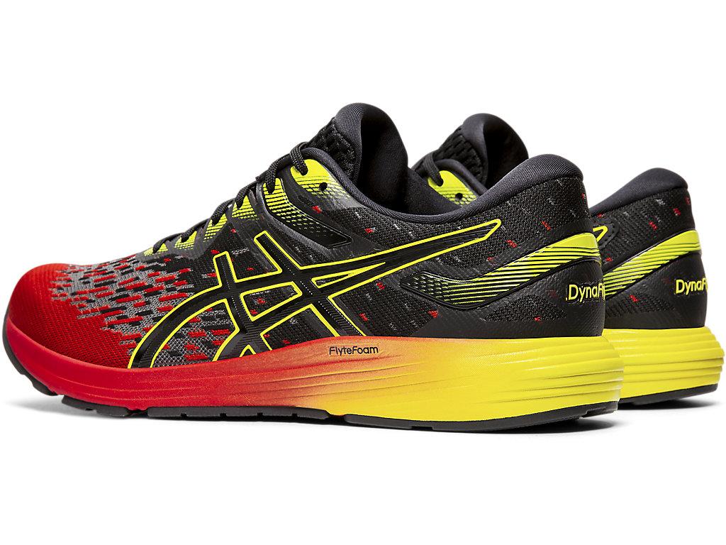 Men's DYNAFLYTE 4 | Speed Red/Black | Running Shoes | ASICS