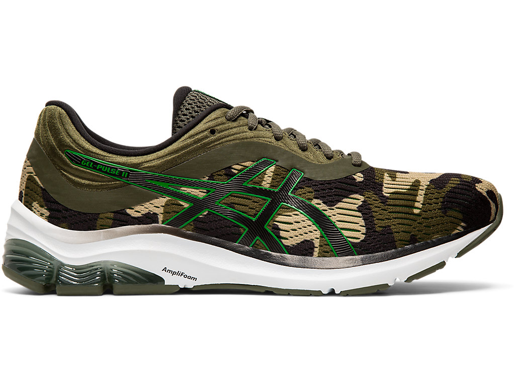 Men's GEL-PULSE 11 | Hunter Green/ Green | Running Shoes | ASICS