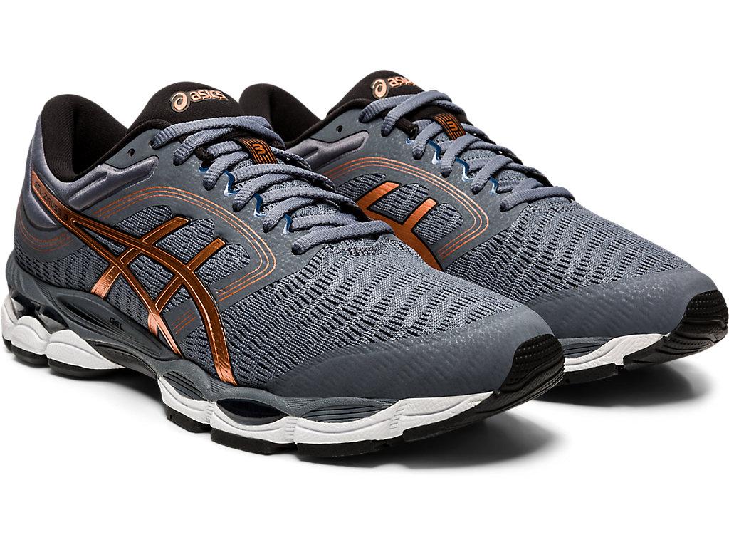 Men's GEL-ZIRUSS™ 3   Metropolis/Pure Bronze   Chaussures running ...