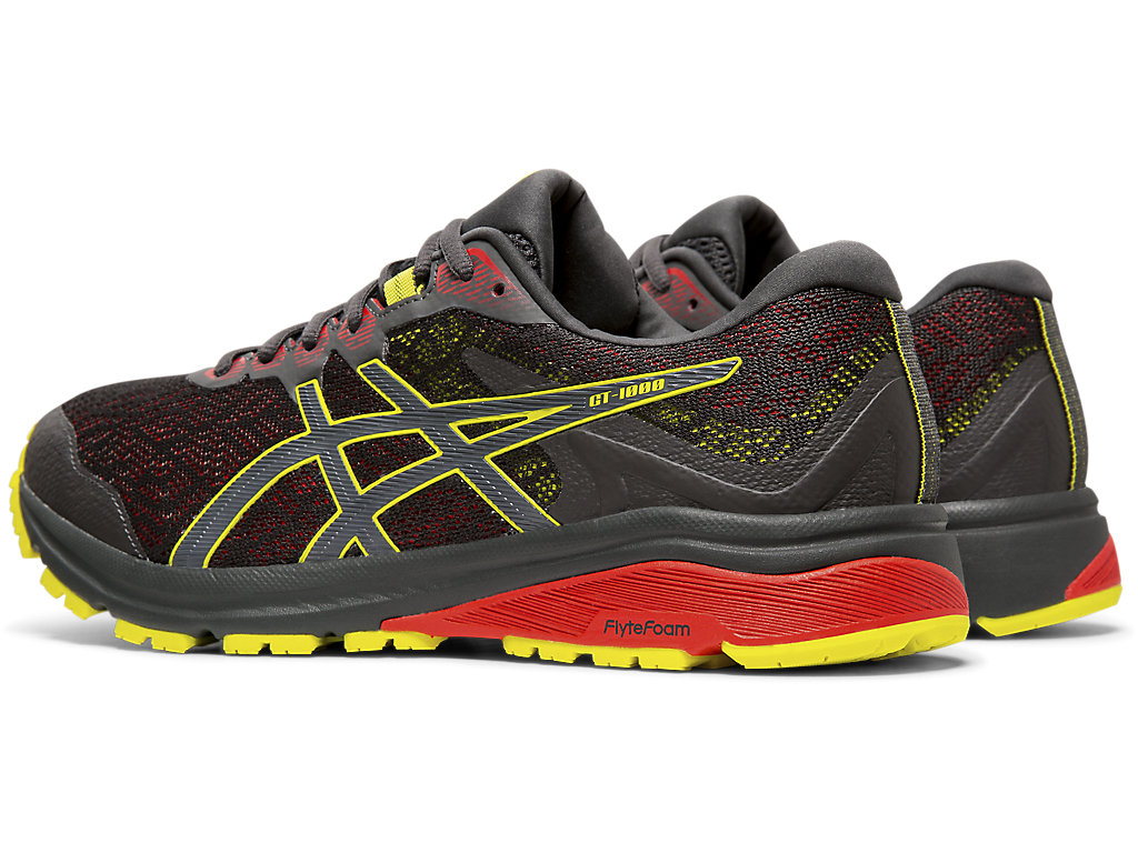 Men's GT-1000 8 G-TX   Graphite Grey/ Sour Yuzu   Running Shoes ...